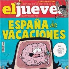 Coleccionismo de Revista El Jueves: REVISTA EL JUEVES Nº 2097 (DEL 2 AL 8 DE AGOSTO DE 2017) - ESPAÑA DE VACACIONES - 76 PÁGINAS. Lote 292950868