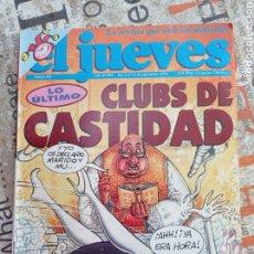 Coleccionismo de Revista El Jueves: REVISTA EL JUEVES , N. 906 ,CLUBS DE LA CASTIDAD. Lote 294023093