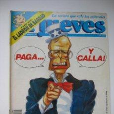 Coleccionismo de Revista El Jueves: REVISTA EL JUEVES. Lote 294060123