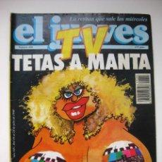 Coleccionismo de Revista El Jueves: REVISTA EL JUEVES. Lote 294062278