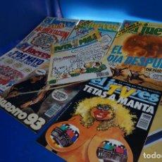 Coleccionismo de Revista El Jueves: 7 REVISTAS. PUTA MILI + 6 EL JUEVES (ENTRE 1984 Y 1997). Lote 294131458