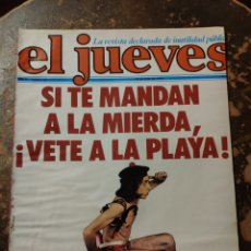 Coleccionismo de Revista El Jueves: REVISTA EL JUEVES N° 61 (AÑO II, 1978). Lote 296905498