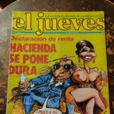 Coleccionismo de Revista El Jueves: REVISTA EL JUEVES N° 62 (AÑO II, 1978). Lote 296905673