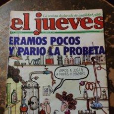 Coleccionismo de Revista El Jueves: REVISTA EL JUEVES N° 63 (AÑO II, 1978). Lote 296905813