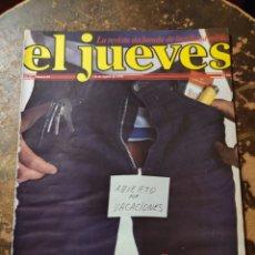 Coleccionismo de Revista El Jueves: REVISTA EL JUEVES N° 64 (AÑO II, 1978). Lote 296905983