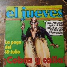 Coleccionismo de Revista El Jueves: REVISTA EL JUEVES N° 59 (AÑO II, 1978). Lote 296906848