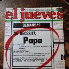 Coleccionismo de Revista El Jueves: REVISTA EL JUEVES N° 65 (AÑO II, 1978). Lote 296907038