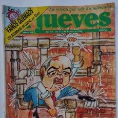 Coleccionismo de Revista El Jueves: EL JUEVES 661 - 24 AL 30 ENERO 1990 LA URSS HACE AGUAS-LOS APUROS DE GORBI-VAMOS QUEMAOS ACCIDENTES. Lote 297093478