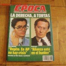 Coleccionismo de Revista Época: RADIOGRAFÍA DE LA JUVENTUS DE TURIN. REVISTA ÉPOCA. 20 DE OCTUBRE DE 1986. Lote 9063982