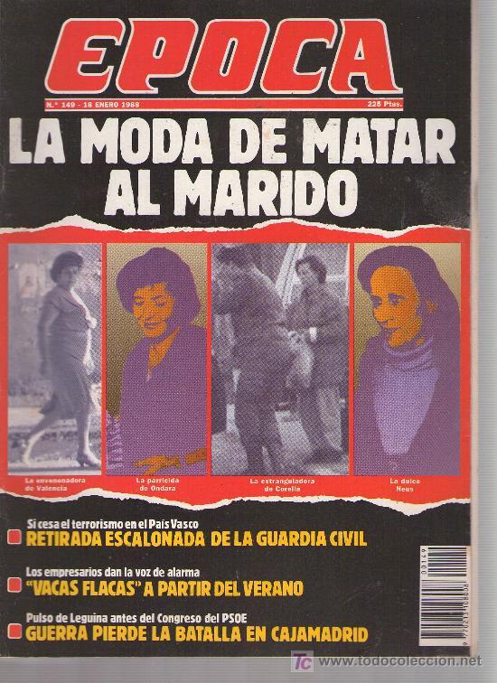EPOCA: AÑO 1988 N 149 (Coleccionismo - Revistas y Periódicos Modernos (a partir de 1.940) - Revista Época)