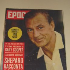 Coleccionismo de Revista Época: EPOCA REVISTA ITALIANA 1.961 ... GARY COOPER - SOPHIA LOREN - GINA LOLLOBRIGIDA .... Lote 27545293