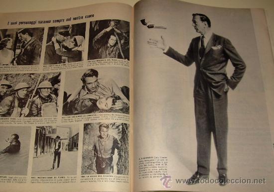 Coleccionismo de Revista Época: EPOCA Revista Italiana 1.961 ... Gary Cooper - Sophia Loren - Gina Lollobrigida ... - Foto 2 - 27545293