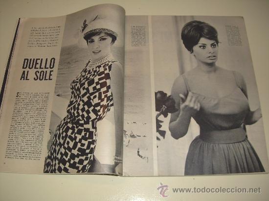 Coleccionismo de Revista Época: EPOCA Revista Italiana 1.961 ... Gary Cooper - Sophia Loren - Gina Lollobrigida ... - Foto 3 - 27545293