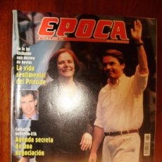 Collectionnisme de Magazine Época: EPOCA Nº 747 1999 AGENDA SECRETA DE UNA NEGOCIACION CON ETA. Lote 28433884