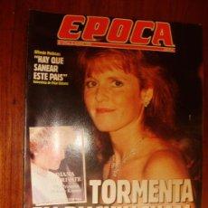 Collectionnisme de Magazine Época: EPOCA Nº 370 1992 HAY QUE SANEAR ESTE PAIS. Lote 28434094