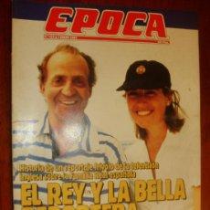 Coleccionismo de Revista Época: EPOCA Nº 410 1993 HISTORIA DE UN REPORTAJE FRIVOLO SOBRE LA FAMILIA REAL ESPAÑOLA. Lote 28434208