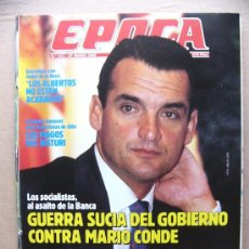 Collectionnisme de Magazine Época: REVISTA EPOCA Nº 211 PAMELA BARDES CARMEN POSADAS STING JUSTO FERNANDEZ LOS ROJOS Y LA GUERRA. Lote 31689280