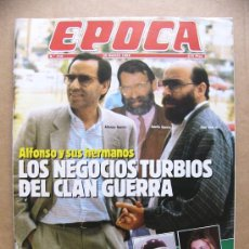 Collectionnisme de Magazine Época: REVISTA EPOCA Nº 210 MARTA CHAVARRI LOS CALVOS JOMEINI LAS VIUDAS DE ETA MANUEL DE ROCHA KOPLOWITZ. Lote 32644051