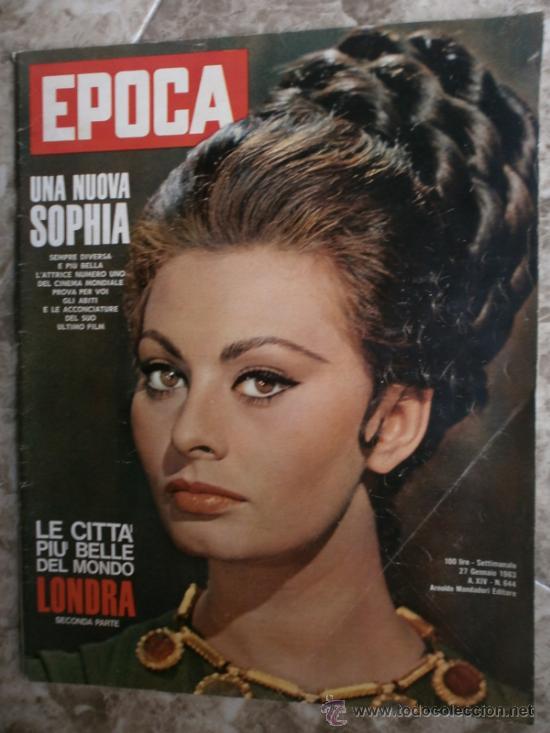 EPOCA Nº644. AÑO 1963. SOPHIA LOREN, JOHN KENNEDY, MINA MAZZINI, CORRADO PANI (Coleccionismo - Revistas y Periódicos Modernos (a partir de 1.940) - Revista Época)