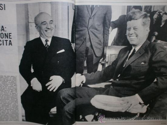 Coleccionismo de Revista Época: EPOCA Nº644. AÑO 1963. SOPHIA LOREN, JOHN KENNEDY, MINA MAZZINI, CORRADO PANI - Foto 3 - 35974560