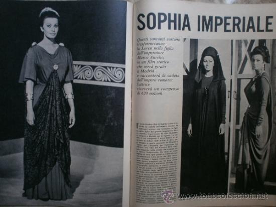Coleccionismo de Revista Época: EPOCA Nº644. AÑO 1963. SOPHIA LOREN, JOHN KENNEDY, MINA MAZZINI, CORRADO PANI - Foto 4 - 35974560
