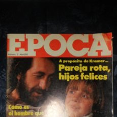 Collectionnisme de Magazine Época: REVISTA EPOCA - NUMERO 0 - ABRIL 1980 - FELIX RODRIGUEZ DE LA FUENTE .... Lote 37608099