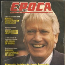 Coleccionismo de Revista Época: REVISTA ÉPOCA Nº265 2 ABRIL 1990. Lote 41259781