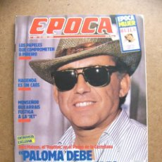 Collectionnisme de Magazine Época: REVISTA EPOCA Nº 222 RUIZ MATEOS MONTSEÑOR BUXARRAIS CYRA TOLEDO HELMUT NEWTON PAUL MCCARTNEY. Lote 50296884