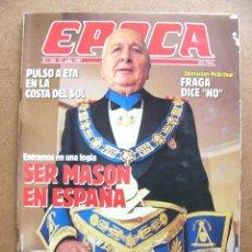 Collectionnisme de Magazine Época: REVISTA EPOCA Nº 124 BEATRIZ DE BORBON ASPAR EVA PERON JOSE MARIA AZNAR MASONES CARTA OLIMPICA BARNA. Lote 47758030