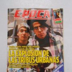 Collectionnisme de Magazine Época: REVISTA EPOCA Nº 288. 10 SEPTIEMBRE 1990. LA EXPLOSION DE LAS TRIBUS URBANAS. TDKR2. Lote 48738896