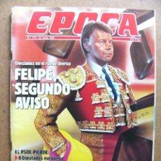 Collectionnisme de Magazine Época: REVISTA EPOCA Nº 119 GUSTAVO VILLAPALOS PERESTROIKA ULTRALIGEROS LOS PICAROS LAS MODELOS J M MANZANA. Lote 49231617