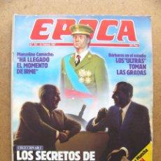 Colecionismo da Revista Época: REVISTA EPOCA Nº 101 ROSARIO FLORES MARCELINO CAMACHO REDONDO SOLCHAGA BESOS DE PELICULA. Lote 49244954