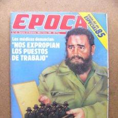 Collectionnisme de Magazine Época: REVISTA EPOCA Nº 42 ESPECIAL CRONICA DE 1985 BATALLA DE BARCELONA CAP 9 JUAN MARIA BANDRES CUBA. Lote 53162597