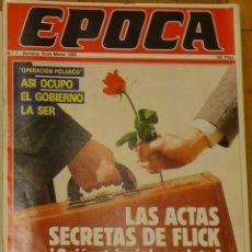 Coleccionismo de Revista Época: ÉPOCA, REVISTA Nº 1. Lote 53451293