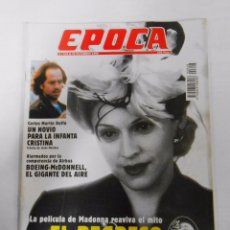 Collectionnisme de Magazine Época: REVISTA EPOCA Nº 618. 30 DE DICIEMBRE DE 1996. EL REGRESO DE EVA PERON. TDKR6. Lote 53537168