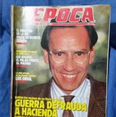 Coleccionismo de Revista Época: REVISTA ÉPOCA - OCTUBRE 1989 - LO QUE QUEDA DEL EJÉRCITO - DIRECTOR DE LA CIA - GUERRA Y HACIENDA. Lote 56577320