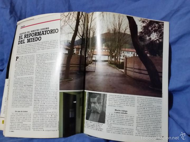 Coleccionismo de Revista Época: Revista Época - Marzo 1987 - Felipe, Mercader de Armas - Txomin - Corrupción PSOE - Raro ejemplar - Foto 3 - 56577463