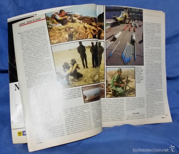 Coleccionismo de Revista Época: Revista Época - Marzo 1987 - Felipe, Mercader de Armas - Txomin - Corrupción PSOE - Raro ejemplar - Foto 4 - 56577463
