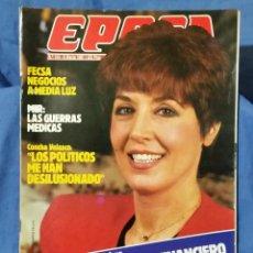 Collectionnisme de Magazine Época: REVISTA ÉPOCA - MARZO 1987 - MARCINKUS, ESCÁNDALO EN EL VATICANO - MIR, GUERRAS MÉDICAS - RARO. Lote 56577562
