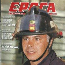 Coleccionismo de Revista Época: REVISTA EPOCA . DIRECTOR JORGE CAMPMANY.Nº 139. 9 NOV 1987. FELIPE GONZALEZ FUEGO EN EL PSOE. Lote 275161398
