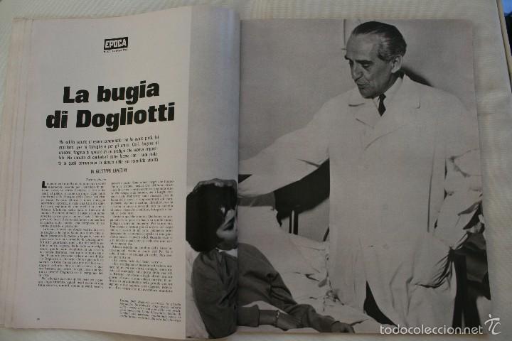 Coleccionismo de Revista Época: REVISTA EPOCA Nº 820 1966 – PORTADA SOPHIA LOREN – ESPECIAL ESPAÑA SECONDO INSERTO - EN ITALIANO - Foto 4 - 61365183