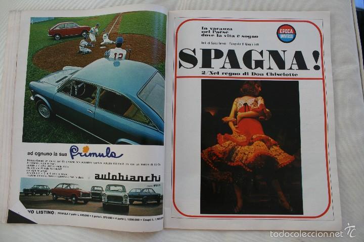 Coleccionismo de Revista Época: REVISTA EPOCA Nº 820 1966 – PORTADA SOPHIA LOREN – ESPECIAL ESPAÑA SECONDO INSERTO - EN ITALIANO - Foto 6 - 61365183