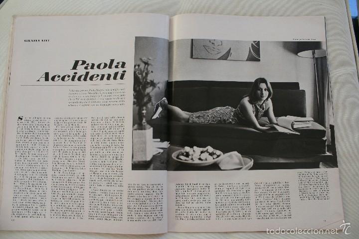 Coleccionismo de Revista Época: REVISTA EPOCA Nº 820 1966 – PORTADA SOPHIA LOREN – ESPECIAL ESPAÑA SECONDO INSERTO - EN ITALIANO - Foto 9 - 61365183