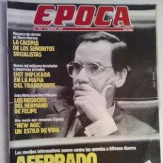 Coleccionismo de Revista Época: EVISTA EPOCA Nº 257 - 5 FREBRERO 1990. Lote 73054591