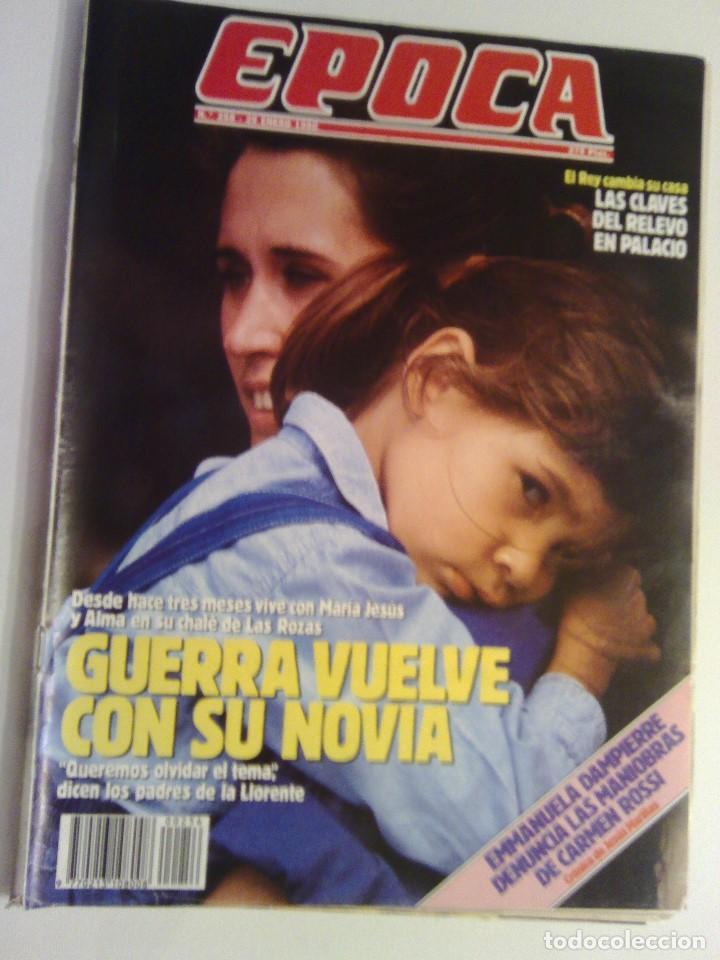 REVISTA EPOCA Nº 256 - 29 ENERO 1990 (Coleccionismo - Revistas y Periódicos Modernos (a partir de 1.940) - Revista Época)