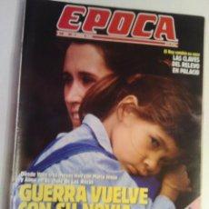 Coleccionismo de Revista Época: REVISTA EPOCA Nº 256 - 29 ENERO 1990. Lote 73054719