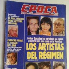 Coleccionismo de Revista Época: REVISTA EPOCA Nº 451 - 18 OCTUBRE 1993. Lote 73054815