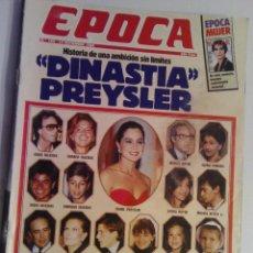 Coleccionismo de Revista Época: REVISTA EPOCA Nº 192 - 14 NOVIEMBRE 1988. Lote 73054975