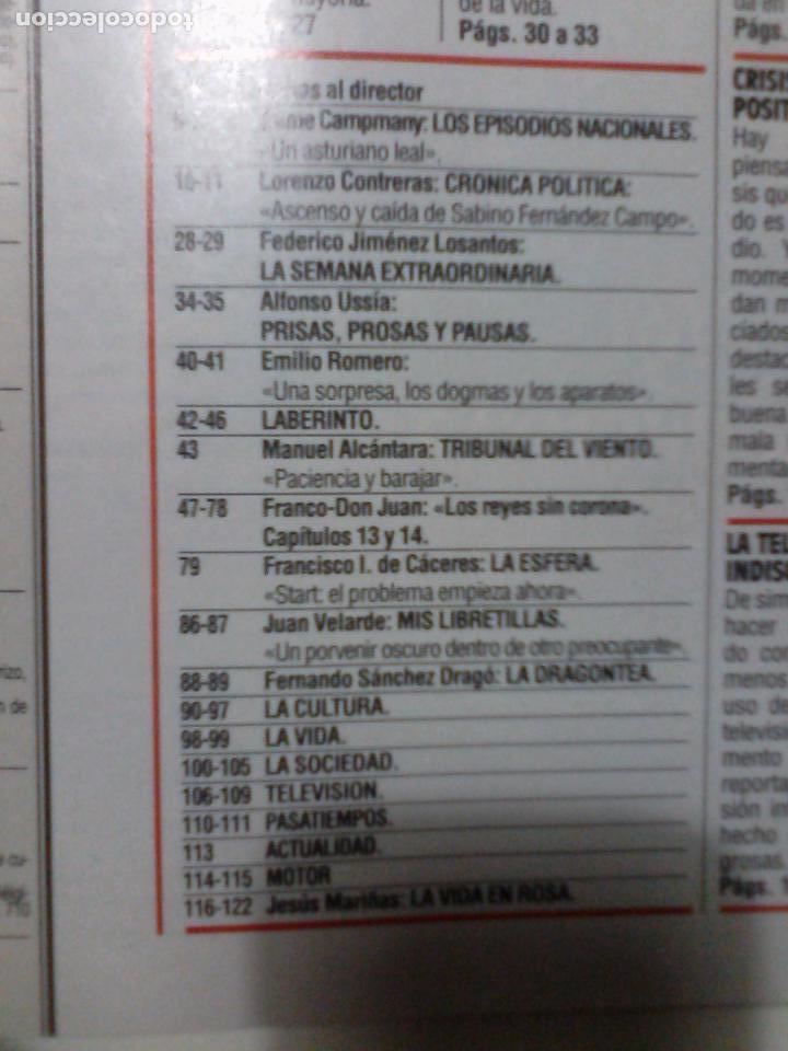 Coleccionismo de Revista Época: EPOCA. NUM 412 18 ENERO 1993. VER SUMARIO Y DESCRIPCION - Foto 2 - 79557265