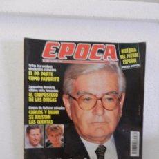 Coleccionismo de Revista Época: REVISTA EPOCA 6 DE JUNIO DE 1994 N 484. EL CREPÚSCULO DE LAS DIOSAS. LOS BOTEROS SE QUEDAN EN MADRID. Lote 85464344